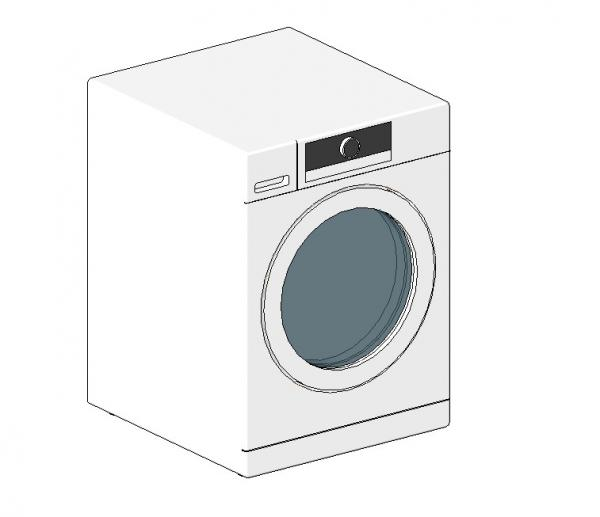Laundry - Washer - Whirlpool Compact 2.3 cu ft WFW5090