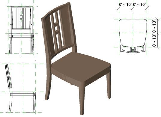 RevitCity.com | Object | Gustavian Side Chair