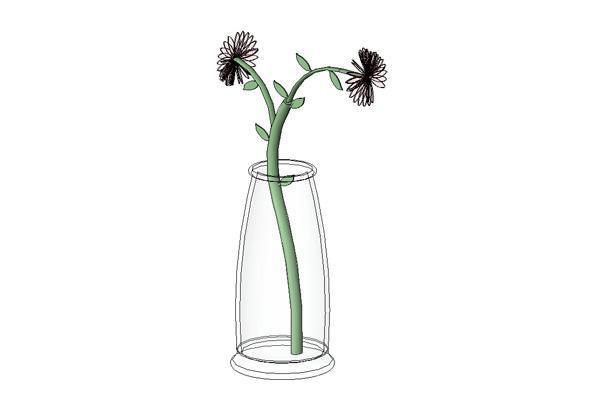 Revitcity Object Flower In Vase
