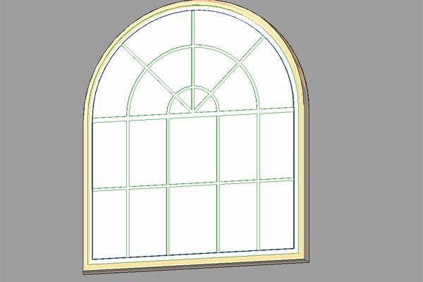 Object 1200 x 1800 arched window with for 1800x1200 window