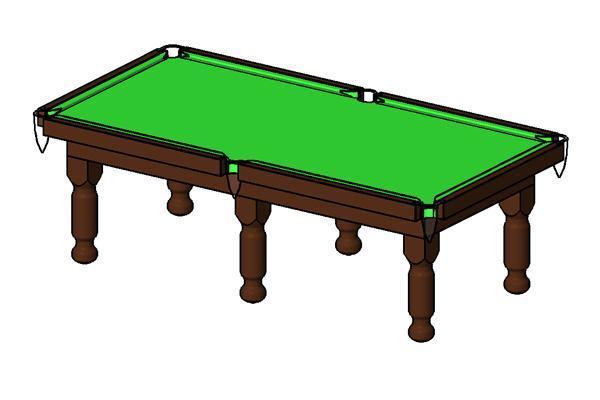 RevitCitycom Object Pool Table Parametric - Revit pool table