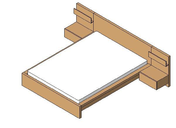 Ikea Malm Queen Bed With End Tables