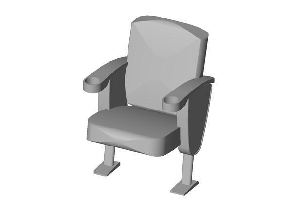 RevitCity com | Object | THEATER SEATS