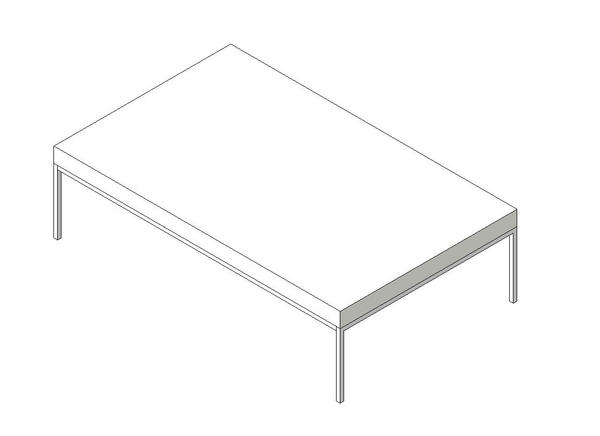 Object Ikea Klubbo Coffee Table