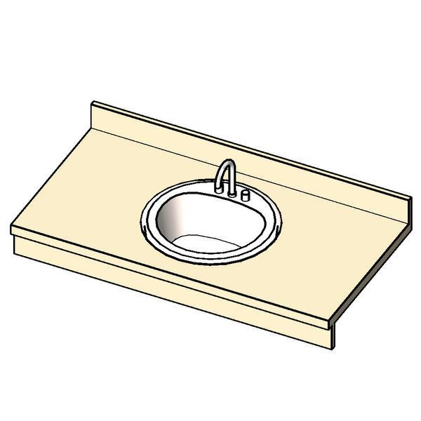 Bathroom Sinks Revit revitcity | object | vanity single sink