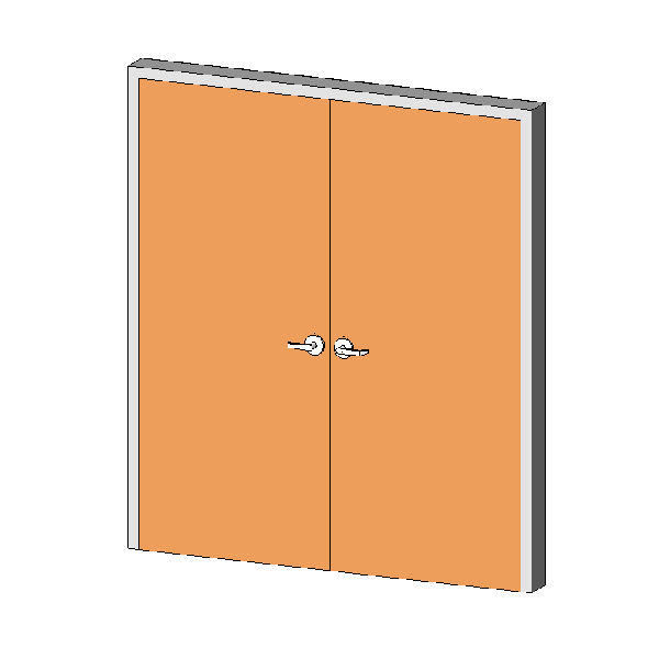 Revitcity Com Object Hm Frame Door Interior Double
