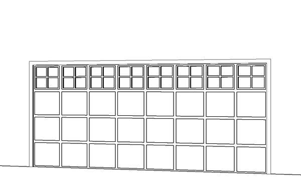 16u0027 Overhead Garage Door   Stockton Design