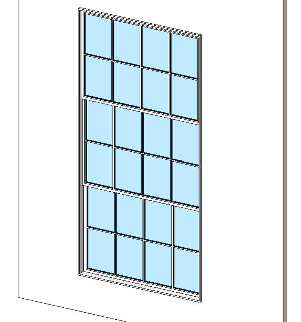 Object triple hung windows for Window object