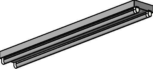 Revitcity object fluorescent light 2 tube strip surface mounted fluorescent light 2 tube strip surface mounted aloadofball Image collections
