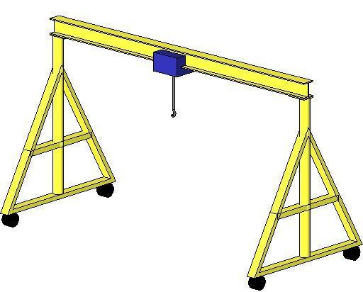 gantry crane plans - photo #8