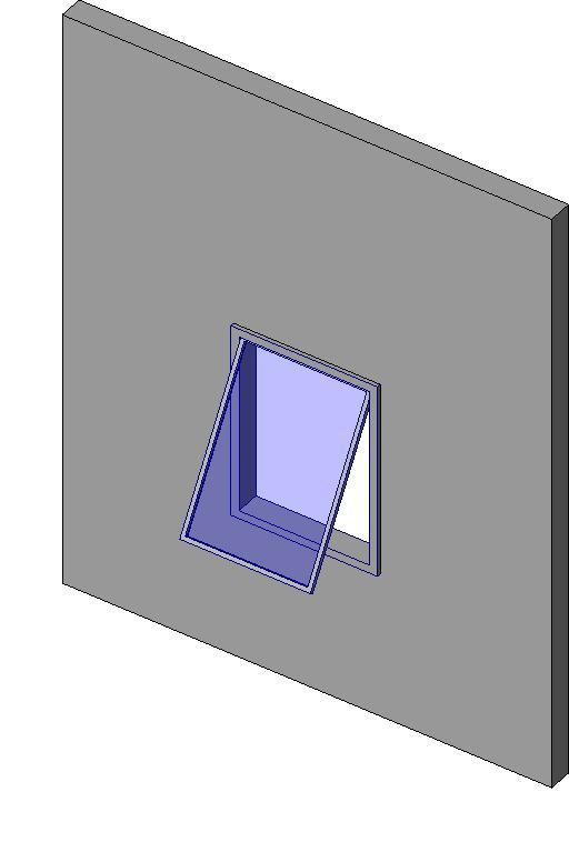 Object window awning window family object for Window object