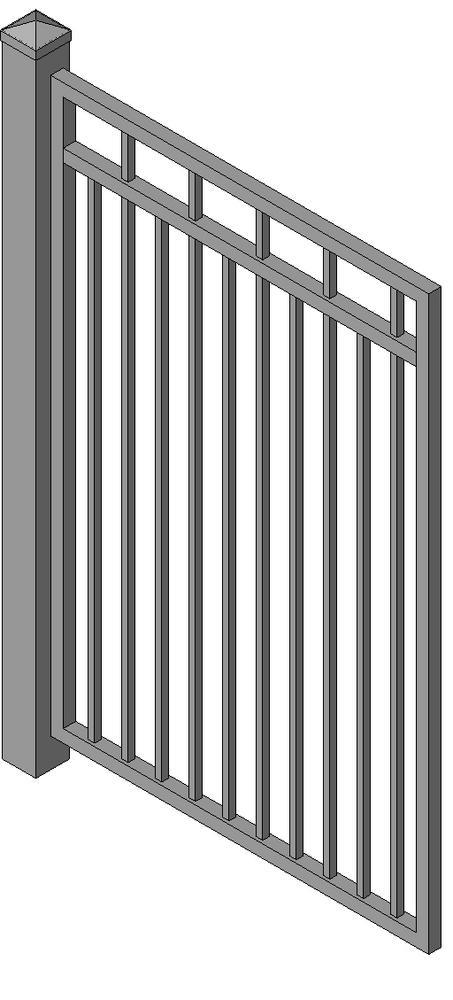 Object Ornamental Gate