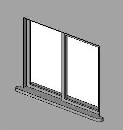 RevitCitycom Object sliding doctors office window with