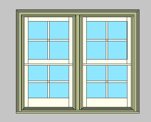 Double Wide Double Hung Windows : Revitcity object kolbe ultra series traditional