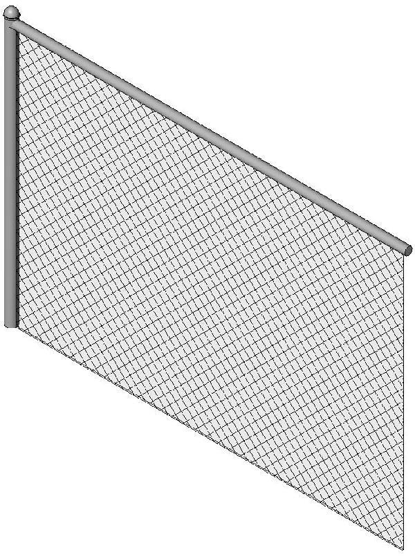 Revitcity Com Object Chain Link Fence