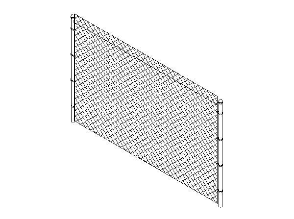 RevitCity com | Object | chain link fence