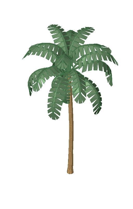 RevitCity com | Object | 3d Palm tree a_palm2 rvt file