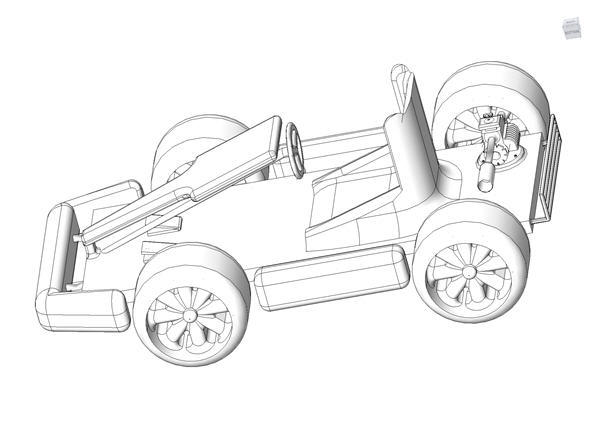 free go kart coloring pages - photo#27