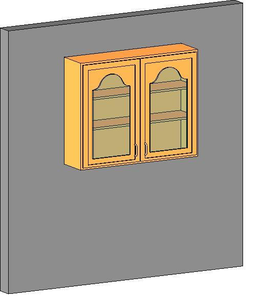 Object Kitchen Wall Cabinet Double