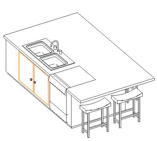 Kitchen Island With Sink Dimensions: Kitchen Island W/ Sink And Dishwasher