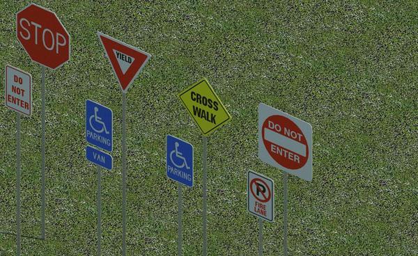 RevitCity com | Object | Street Signs