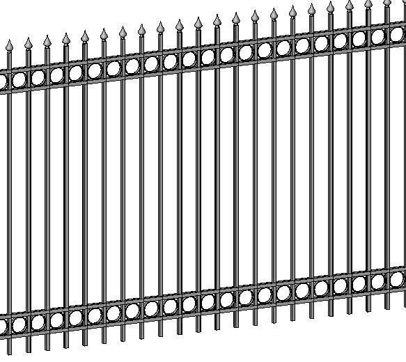 RevitCity com | Object | Iron fence