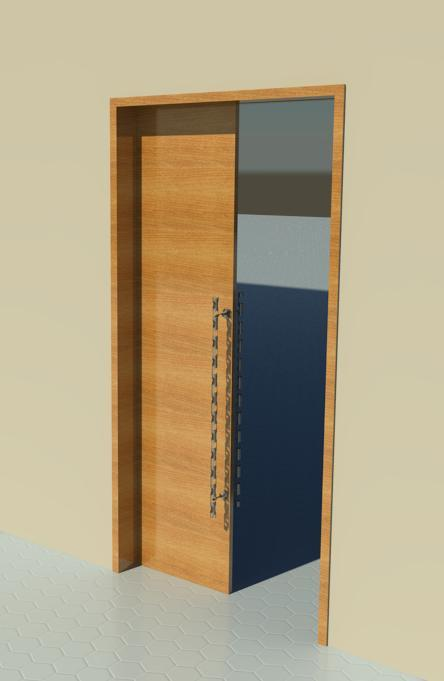Sliding Door (Pocket Door)   Wood
