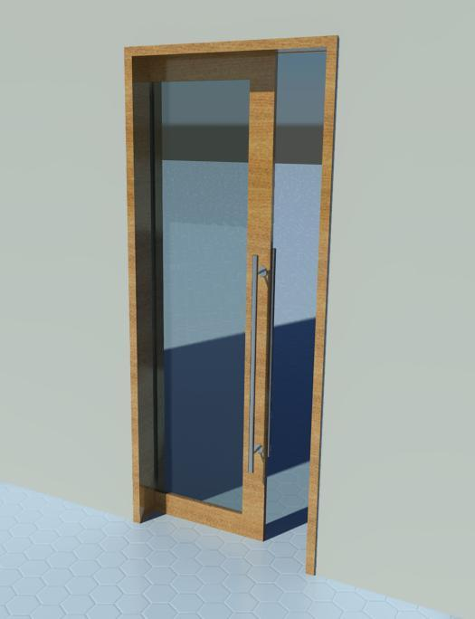 Sliding Door (Pocket door) - Glass