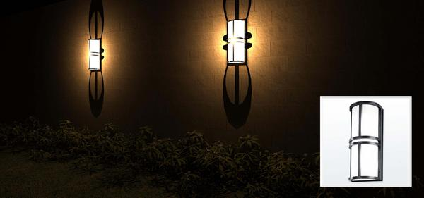 Wall Mounted Light Revit : RevitCity.com Object Outdoor Wall Sconce, Wall Mount, OW1044