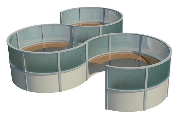 Round Cubicles