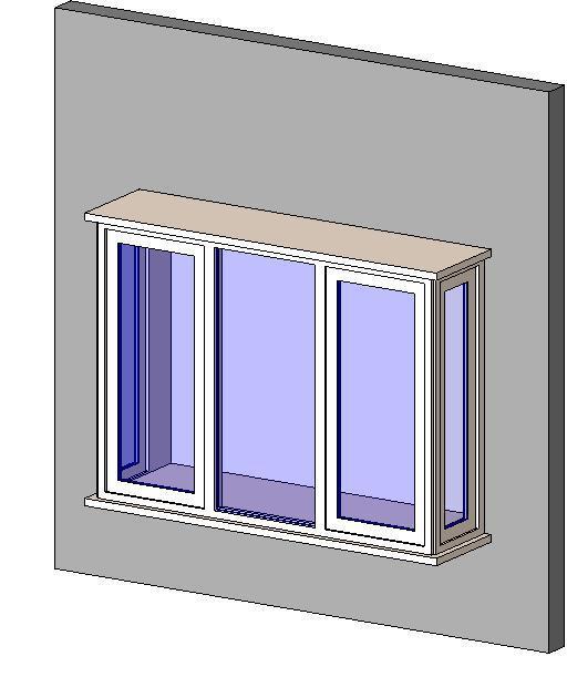 Object window box bay for Box bay windows for sale
